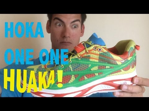 HOKA ONE ONE HUAKA SHOE REVIEW!