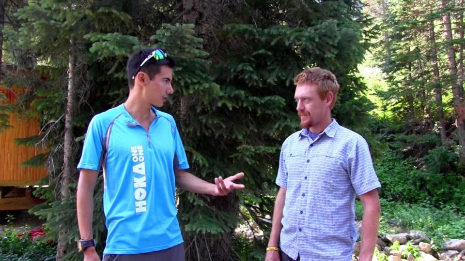 Sage Canaday Pre-2014 Speedgoat 50k Interview
