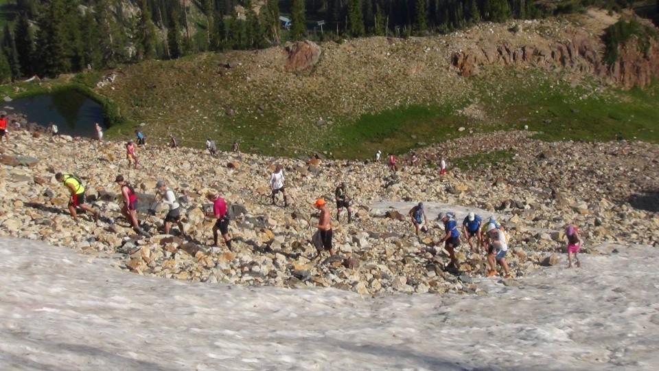 Speedgoat 50km race as seen from the runner/racer July 19, 2014 – A real Mountain Race