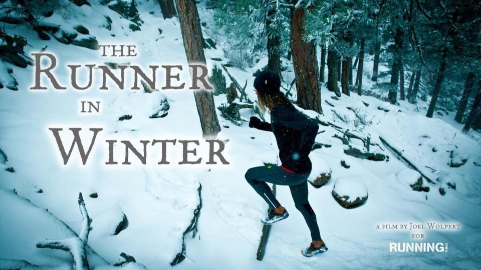 Tony Krupicka The Runner in Winter