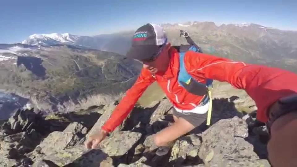 Chardonnet alpinrunning loop