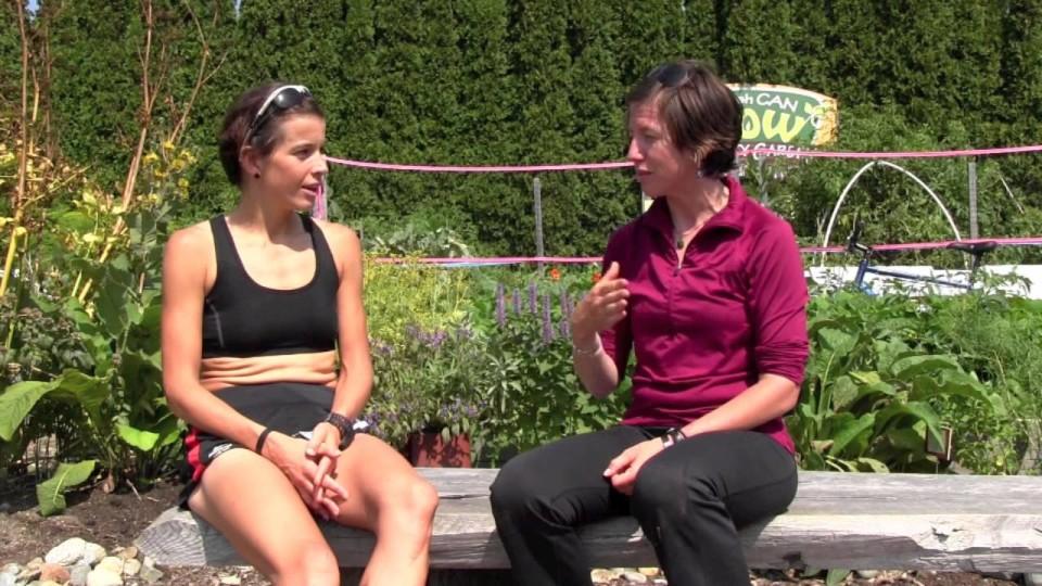 Ellie Greenwood, 2014 Squamish 50k Champ, Interview
