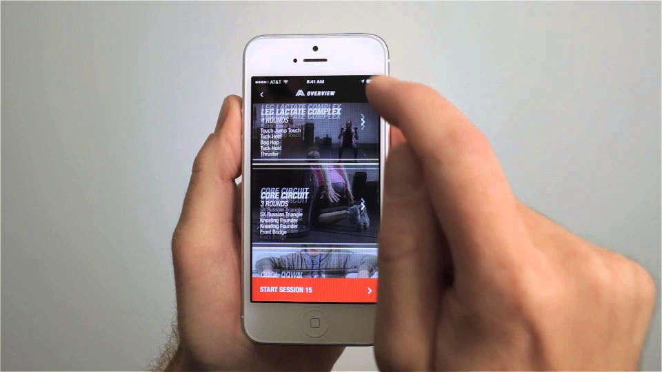 The North Face: Mountain Athletics Training App