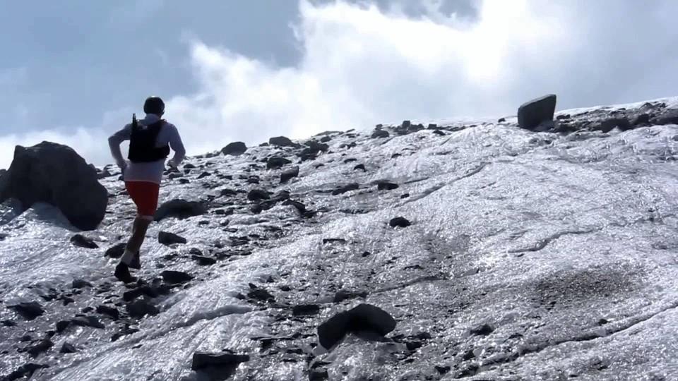Trail Running à la Mer de Glace