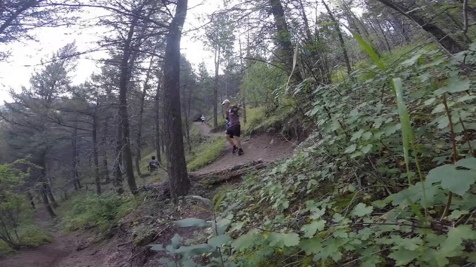 Trail running in Colorado doesn't suck!