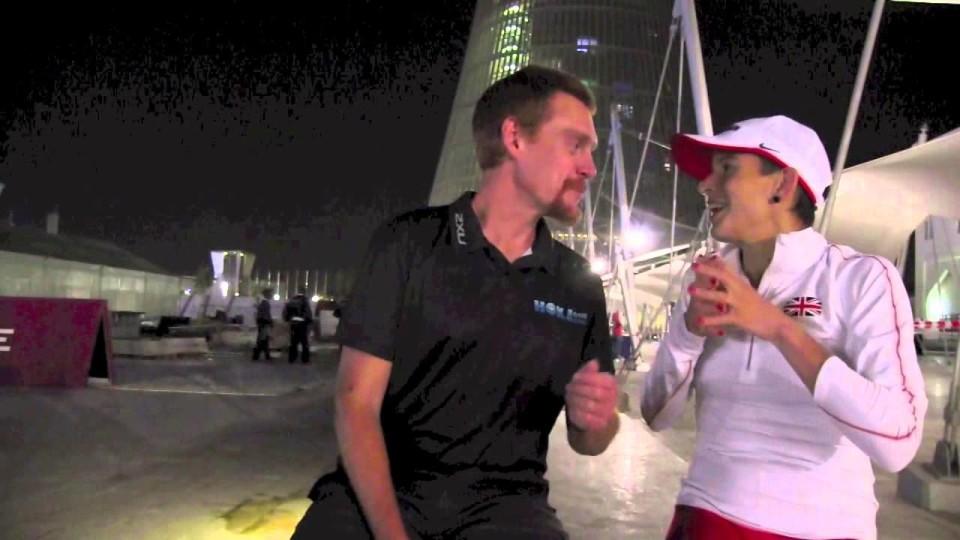 Ellie Greenwood, 2014 IAU 100k World Champion, Interview