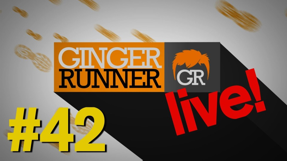 GINGER RUNNER LIVE #42 | Ben Gibbard (Death Cab For Cutie) talks about Ultrarunning!