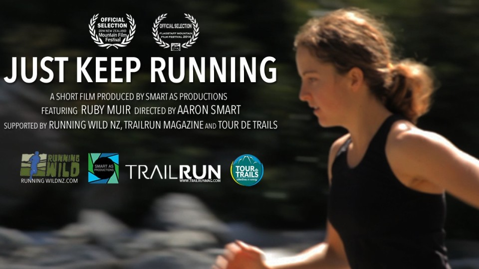 JUST KEEP RUNNING trailer: Ruby Muir NZ