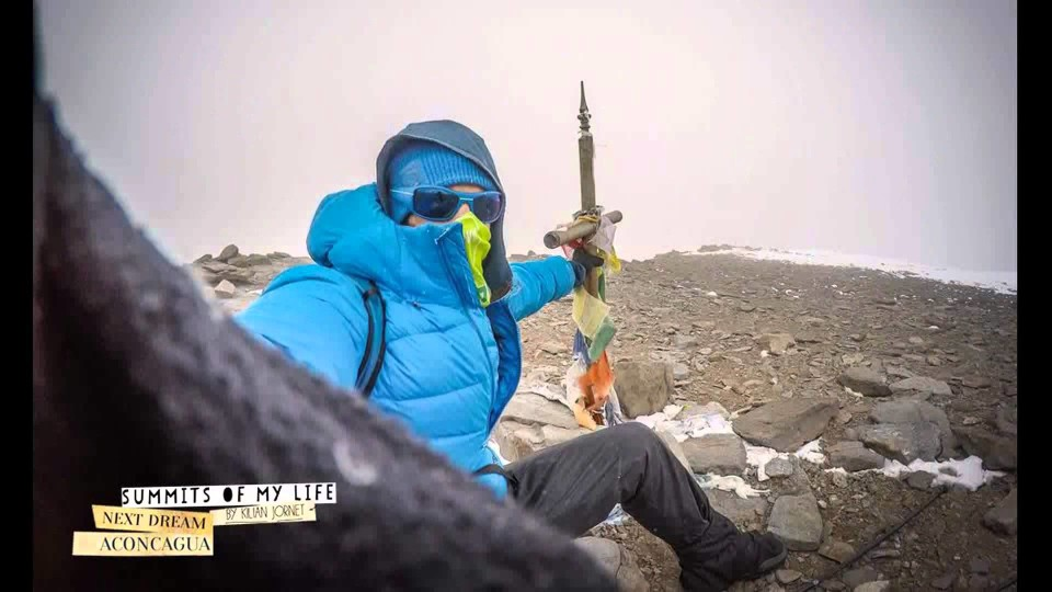 Summits of my life new record of Aconcagua – Kilian Jornet – 12h49