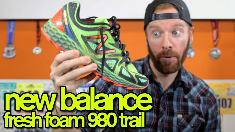 NEW BALANCE FRESH FOAM TRAIL 980 REVIEW | The Ginger Runner