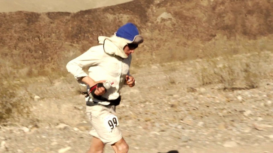 2012 Strongest Hearts 10; Michael Arnstein at the Badwater Ultramarathon