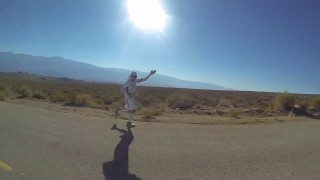 Badwater 135 mile run 2014 – Featuring Larry Slam and the Bacon Bits