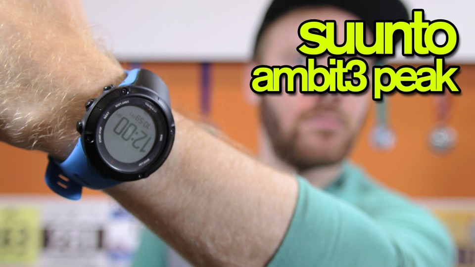 SUUNTO AMBIT3 PEAK REVIEW | The Ginger Runner
