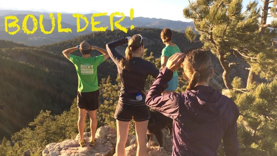 Boulder Trail Running: Green Mountain from Chautauqua Park