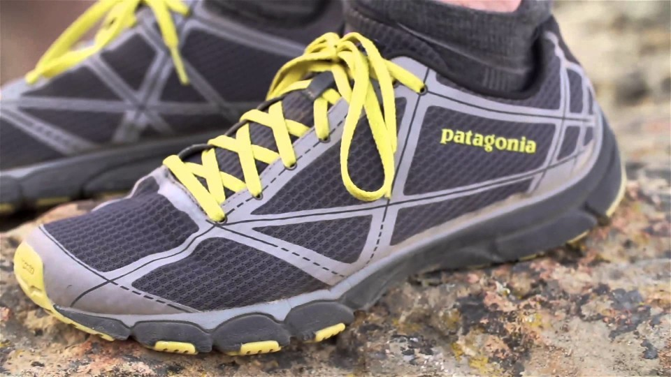 Patagonia EVERlong Minimal Trail Shoe with Jeff Browning