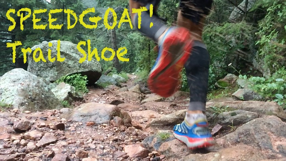 HOKA ONE ONE SPEEDGOAT TRAIL SHOE REVIEW | Sage Canaday
