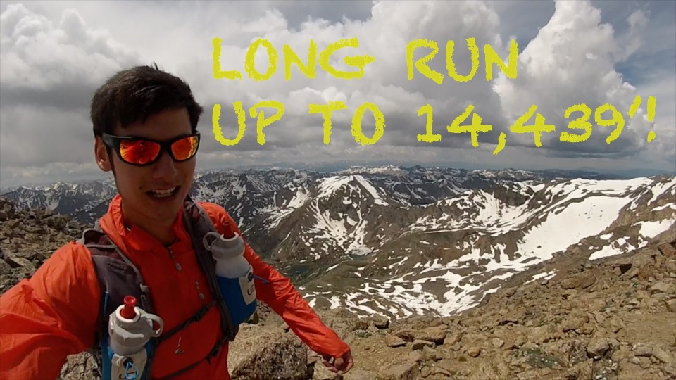 Training for UTMB100 | Mt. Elbert and Mt. Massive Ascent: Long Run | Sage Canaday Episode 2