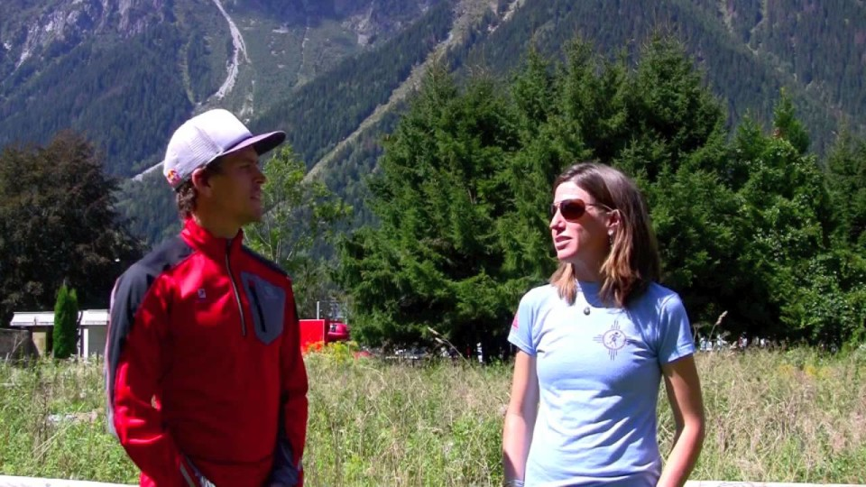 Ryan Sandes Pre-2015 Ultra-Trail du Mont-Blanc Interview