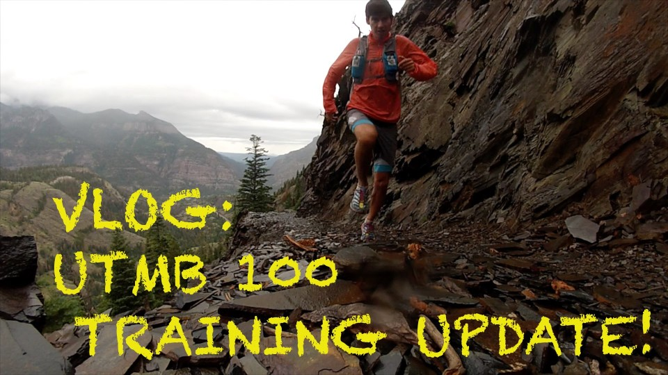 Sage Canaday VLOG: Bear Creek Trail Run near Ouray, CO | UTMB 100 Training