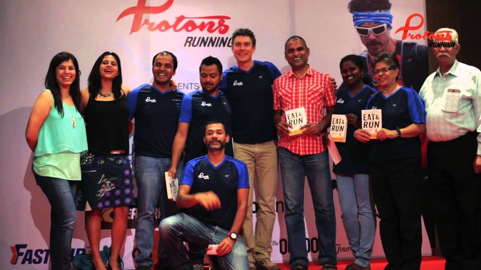 "Ultra Marathon Legend ""Scott Jurek"" Tour of India – Bengaluru 2015"