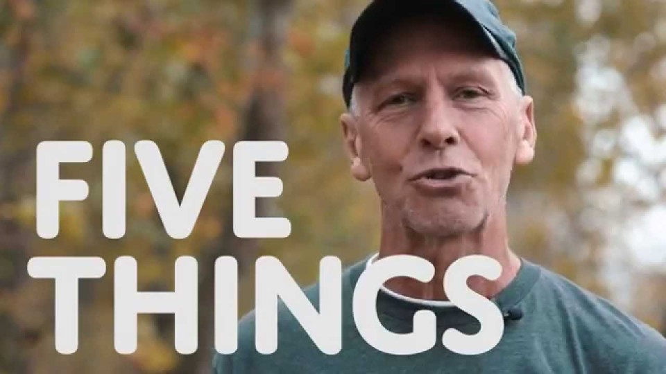 5 Things: Trail Running with Dan Kuhlman