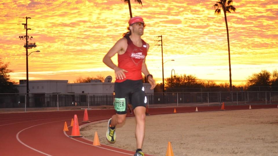 Zach Bitter 100 mile American Record 11:40:55 – Desert Solstice 2015