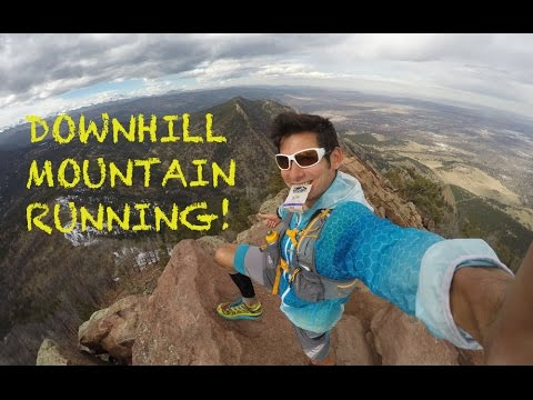Bear Peak: West Ridge and Bear Canyon Descent | Sage Running Downhill: Boulder Trails
