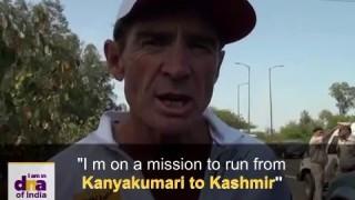 Ultra marathon runner opens up on Spirit for India run